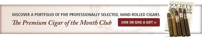 Join or Give the Premium Cigar of the Month Club