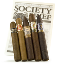 cigar of the month club example shipment